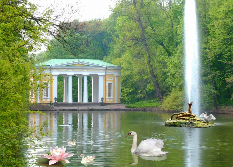 Sofiyivka and Vinnitsa fountain